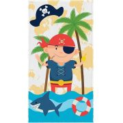 Toalha Felpuda Pirata 06127101 | Lepper