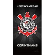 Toalha Aveludada Time de Futebol - Corinthians | Buettner