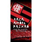 Toalha Aveludada Time de Futebol - Flamengo  3c4677cb6dc8e