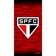 Toalha Veludo Time de Futebol - São Paulo | Buettner