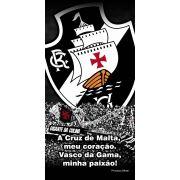 Toalha Aveludada Time de Futebol - Vasco | Buettner