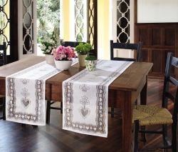 Trilho de mesa de Crochê Lace 35 x 170 cm | Lepper