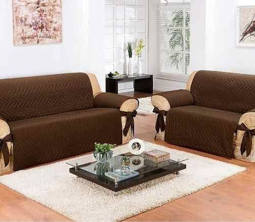 Protetor De Sofá Impermeável 2 E 3 Lugares - Fácil De Limpar