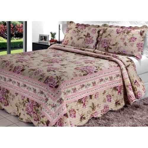 colcha bouti casal gigante 2 20x2 40 suzi admirare textil guerreiro. Black Bedroom Furniture Sets. Home Design Ideas