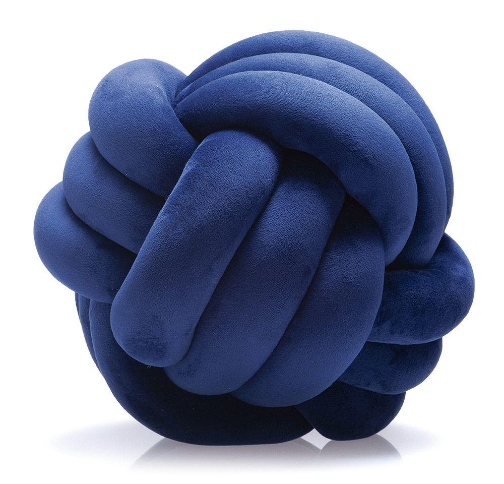 Almofada Nó Jolitex 20cm Azul Marinho