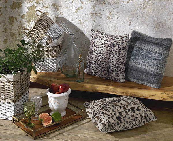 Almofada pele print  | Hedrons