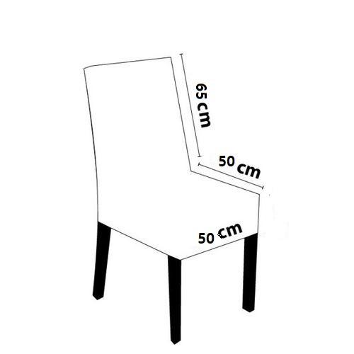 Capa de Cadeira Em Veludo Vinho Jolitex