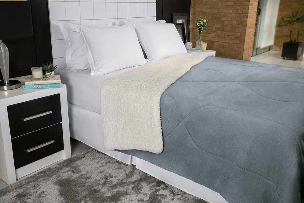 Cobedrom Fleece Dupla Face Casal | Lepper