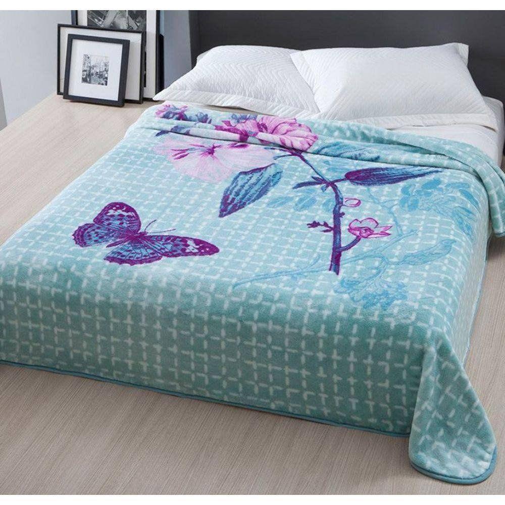 Cobertor Casal Raschel Home Design | Corttex