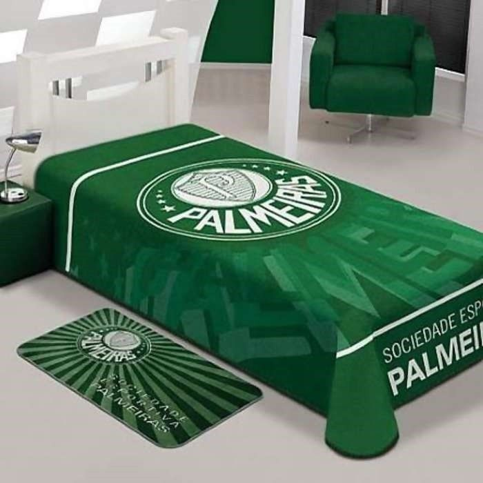 Cobertor Standium Casal Palmeiras   Jolitex
