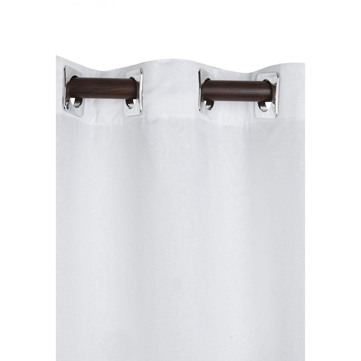 Cortina Blackout De Tecido Quarto/Sala 3,00x2,50 Branca  Admirare