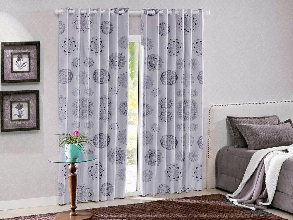 Cortina Blackout PVC Estampada Nova Coleção 2,8 x 2,8 m | Admirare