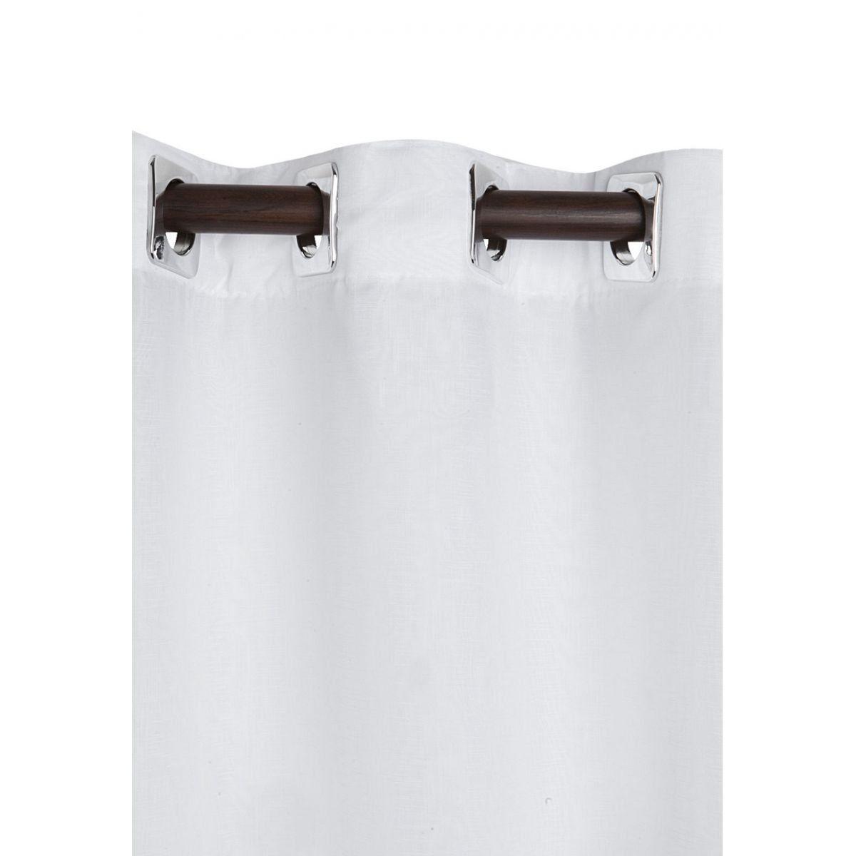 Cortina Blackout Sala/Quarto em Tecido  2,00 x 1,80 Branca  Admirare