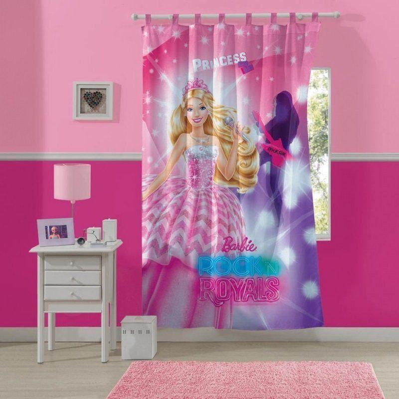 Cortina com alça Barbie Rock Royals | Lepper
