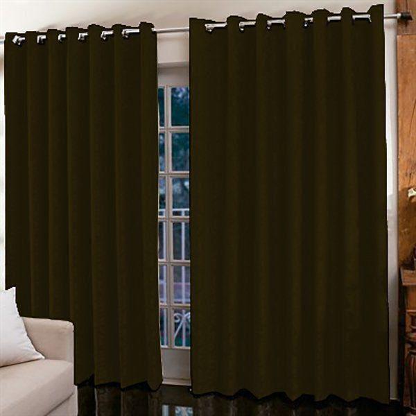 Cortina Jacquard para sala/quarto 4 x 2,5 m | Admirare