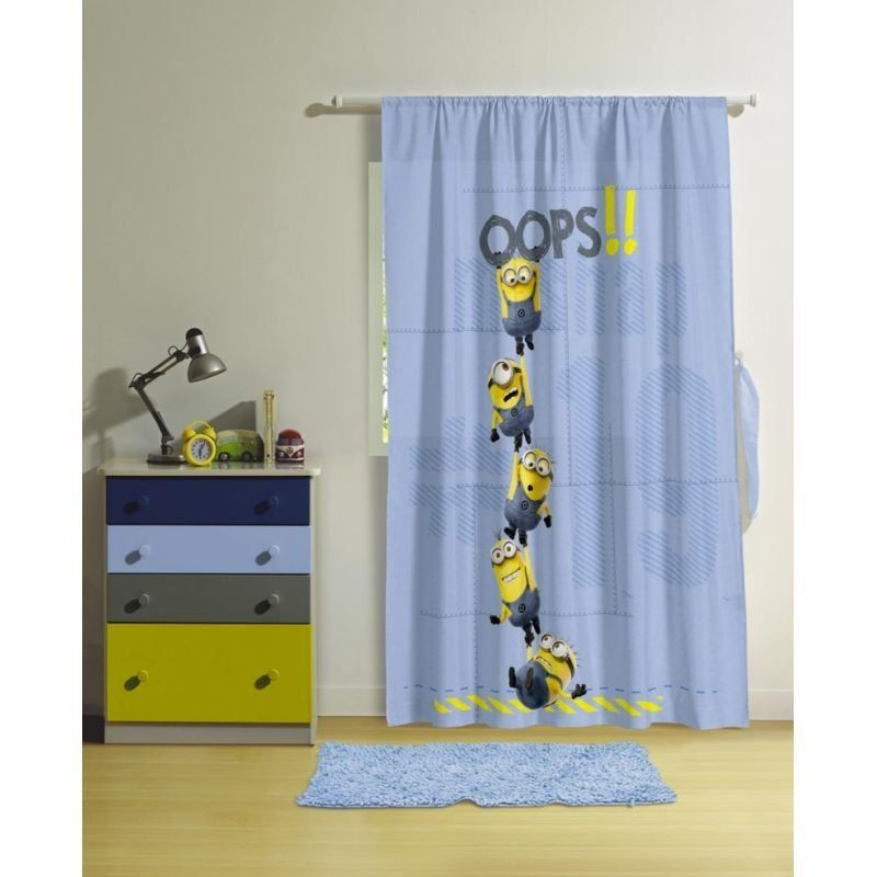 Cortina Minions Estampada 05017701 150 x 200 | Lepper