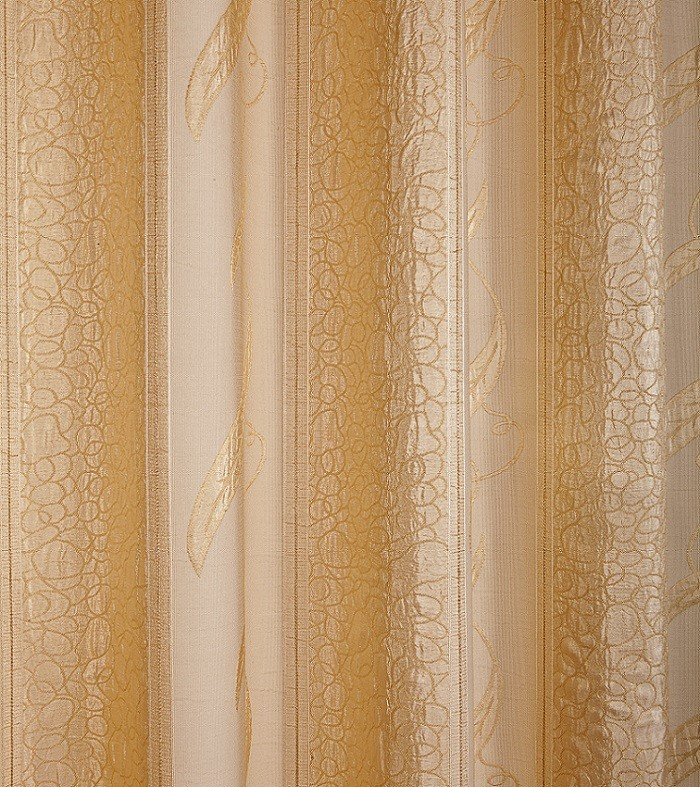 Cortina Para Sala Jacquard Ravena 2,20x 2,20 Sultan