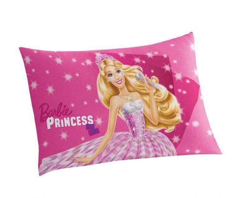 Fronha Infantil Barbie Rock Royals   Lepper