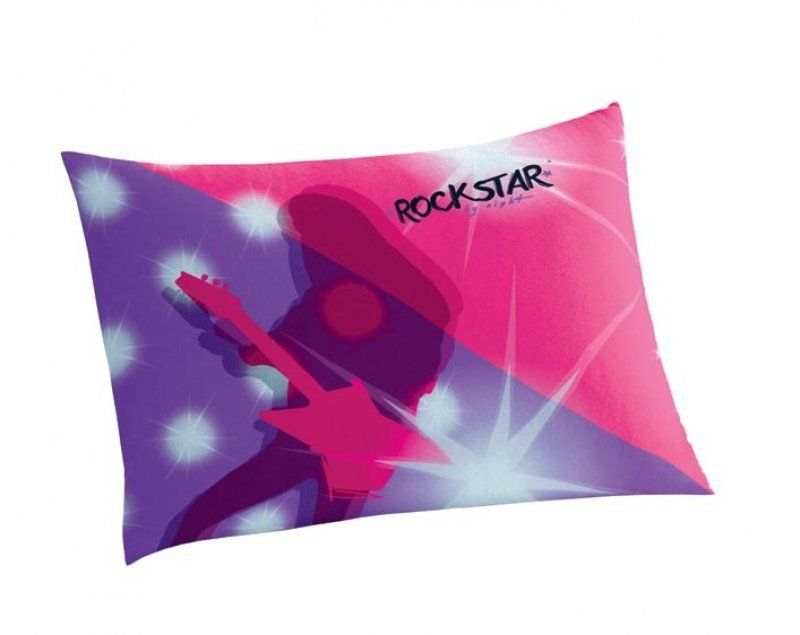 Fronha Infantil Barbie Rock Royals | Lepper