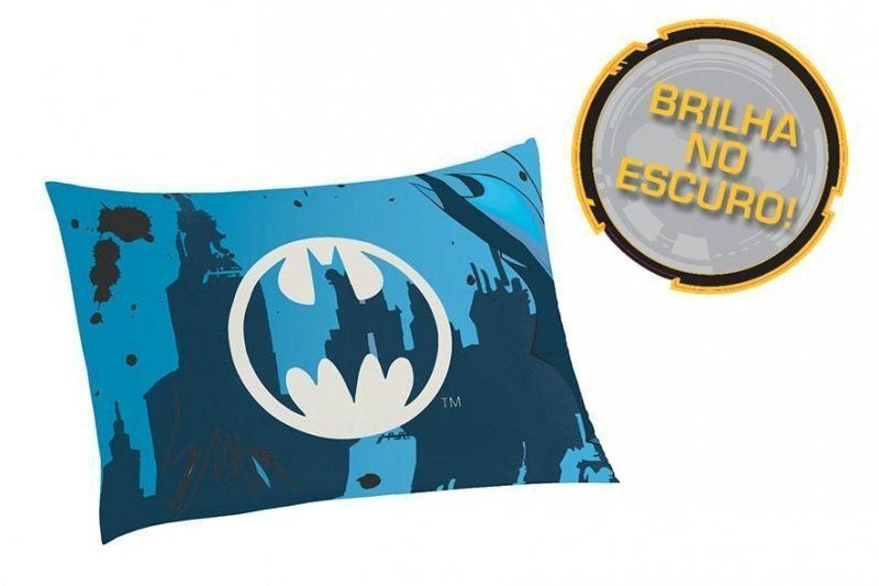 Fronha Infantil Batman Brilha no Escuro | Lepper