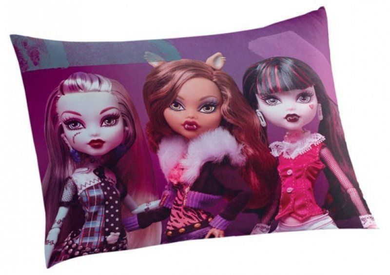 Fronha Infantil Monster High 04865101| Lepper
