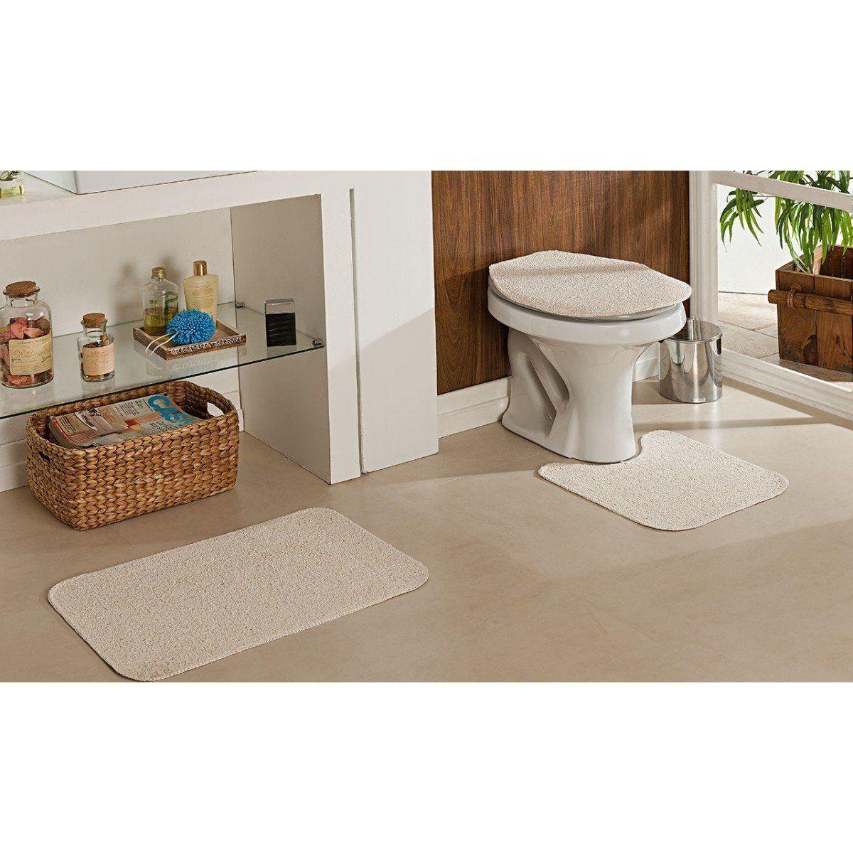 Jogo de Banheiro Natura 100% Algodão | Oasis