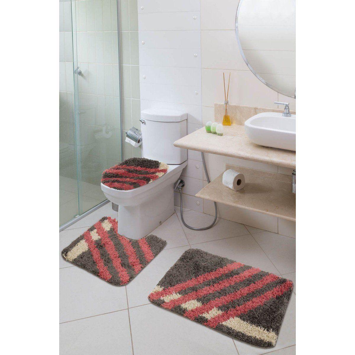 Jogo de banheiro Riviera 3 Peças
