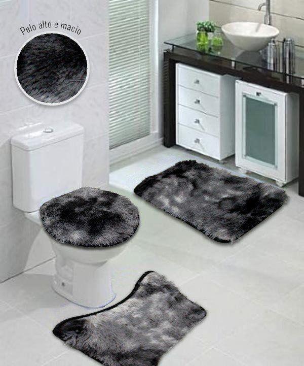 Jogo de Banheiro Soft 3 peças - Admirare