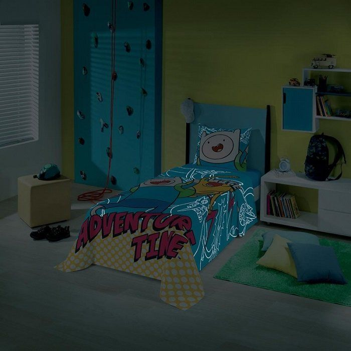 Jogo de cama 2 Peças Hora de Aventura | Lepper