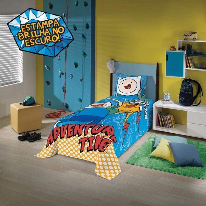 Jogo de cama 3 Peças Hora de Aventura | Lepper