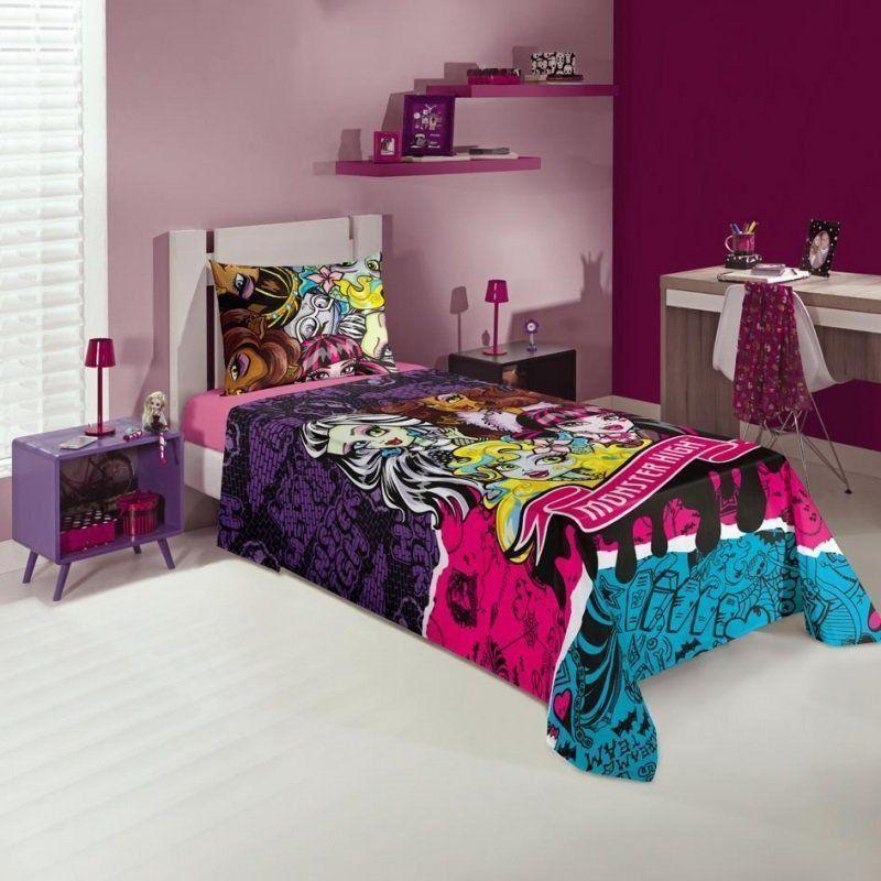 Jogo de cama 3 Peças Monster High 4982801| Lepper