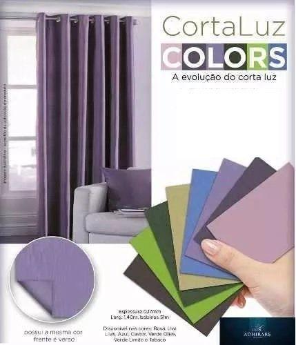 Kit 2 Peças Blackout PVC(Plástico) 200X180 E 280X250