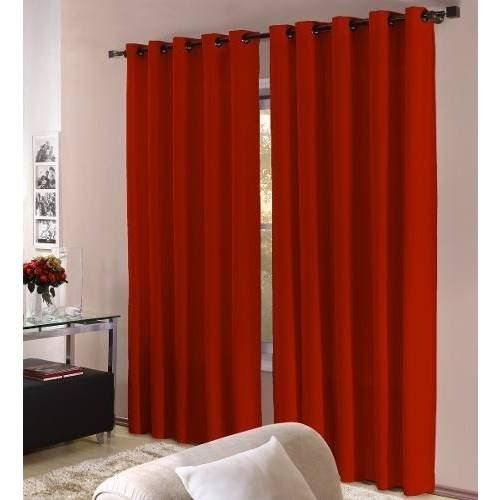 Kit com 5 cortinas Barcelona 3x2,5 para sala   Admirare