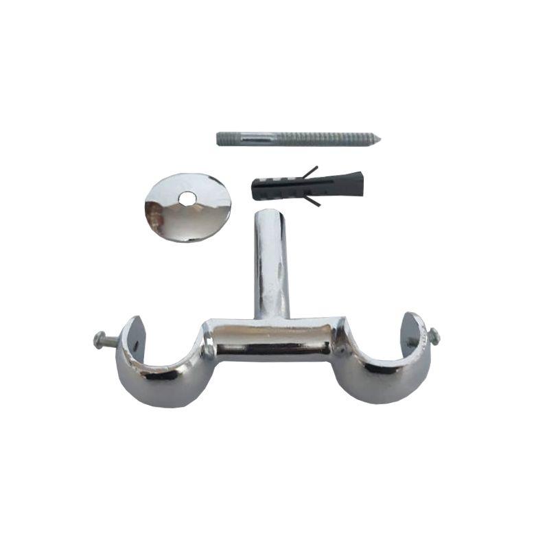 Kit Suporte Teto Duplo 19x19 mm de Alumínio | Admirare