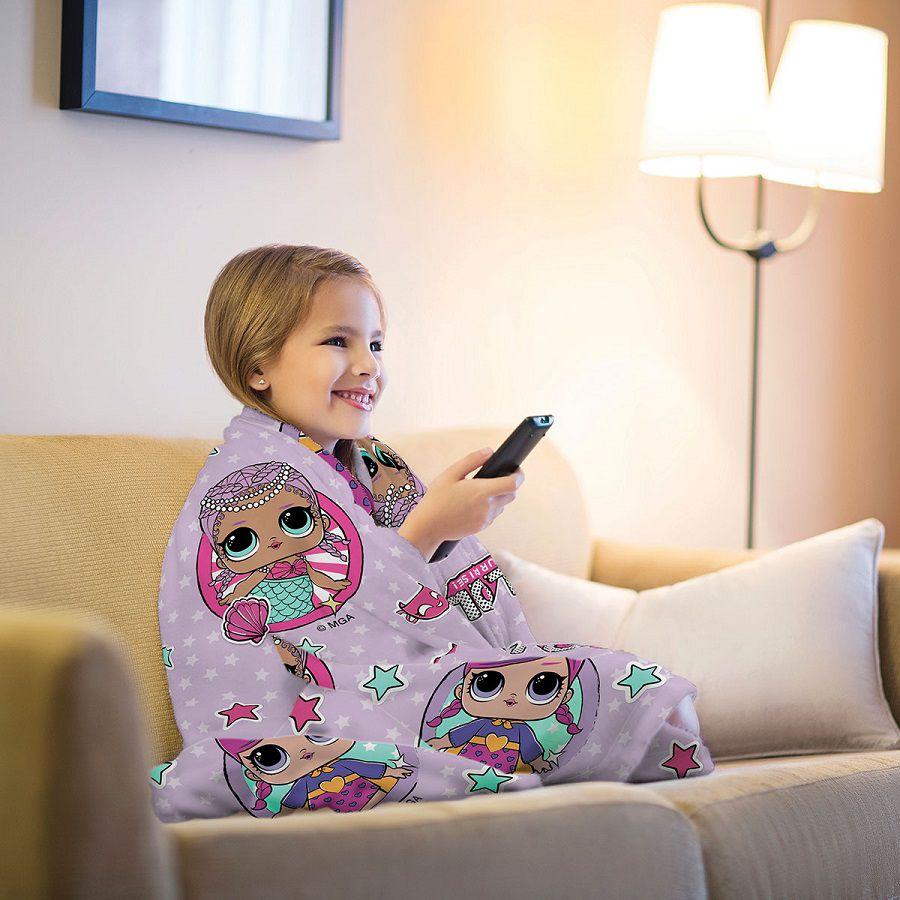Manta LOL Fleece de Sofá 1,25m x 1,50m  Lepper