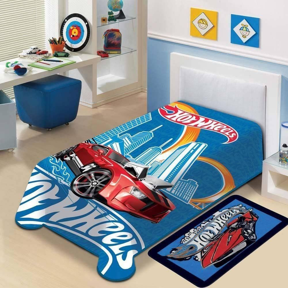 Manta Microfibra Mattel Hot Wheels | Jolitex