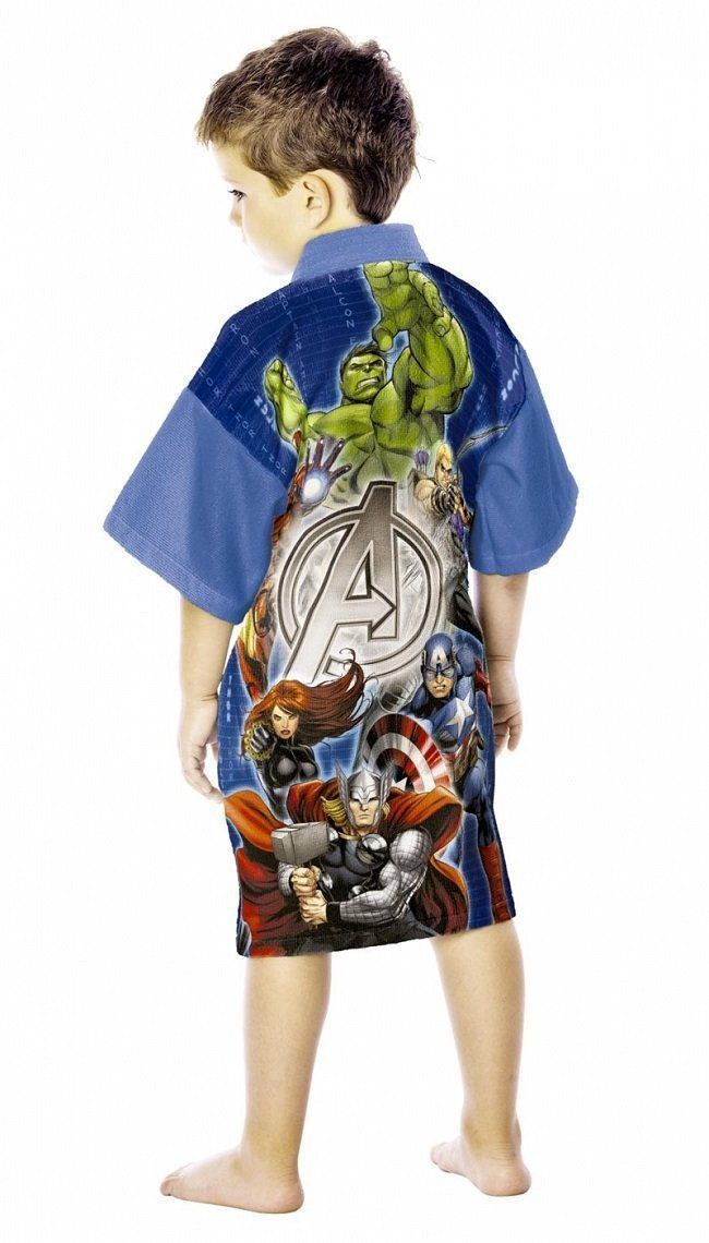 Roupão Aveludado Avengers | Lepper