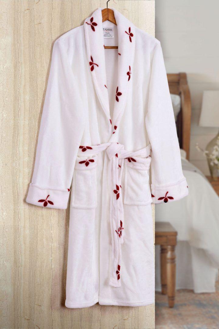 Roupão de Banho Flannel Tamir Versalhes Tam: G