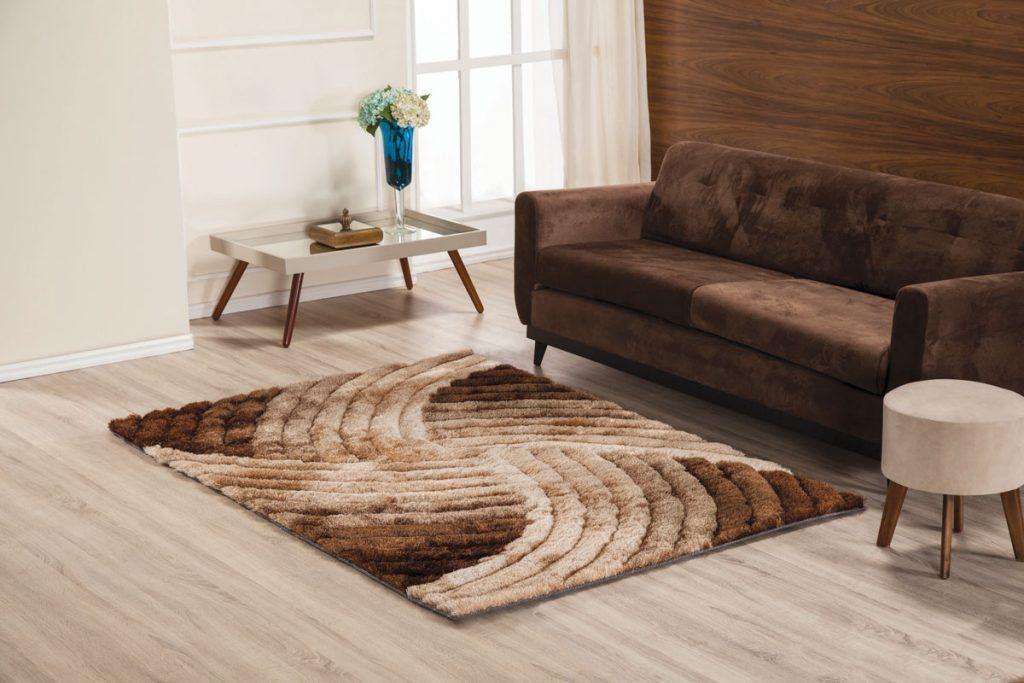 Tapete 3D Wave 100 x 140 cm para sala/quarto | Tamir Decor