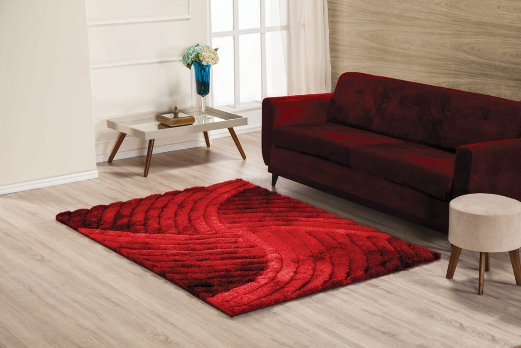 Tapete 3D Wave 140 x 200 cm para sala/quarto | Tamir Decor
