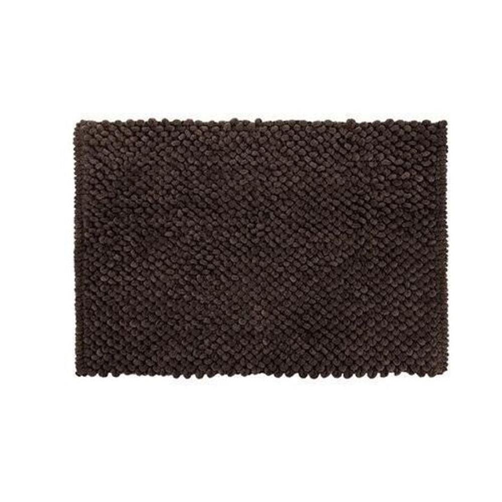 Tapete de Banheiro Antiderrapante Micropop Marrom Camesa