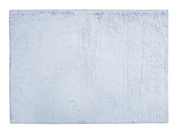 Tapete de Sala Shaggy 1,00X1,40 Azul