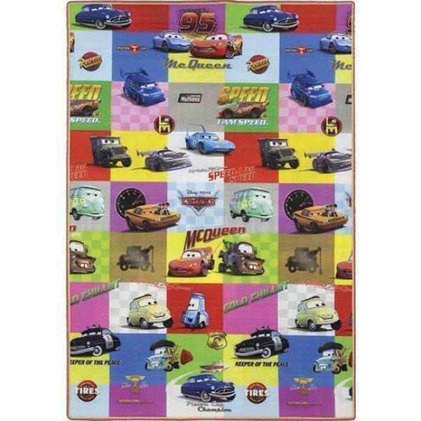 e76593c748 Tapete Recreio Carros   Mickey 120x180