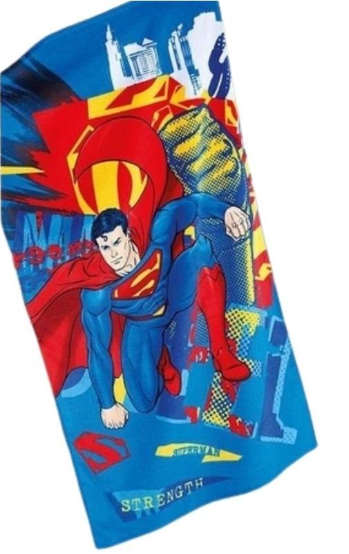 Toalha De Banho Superman Döhler Aveludada 100% Algodão