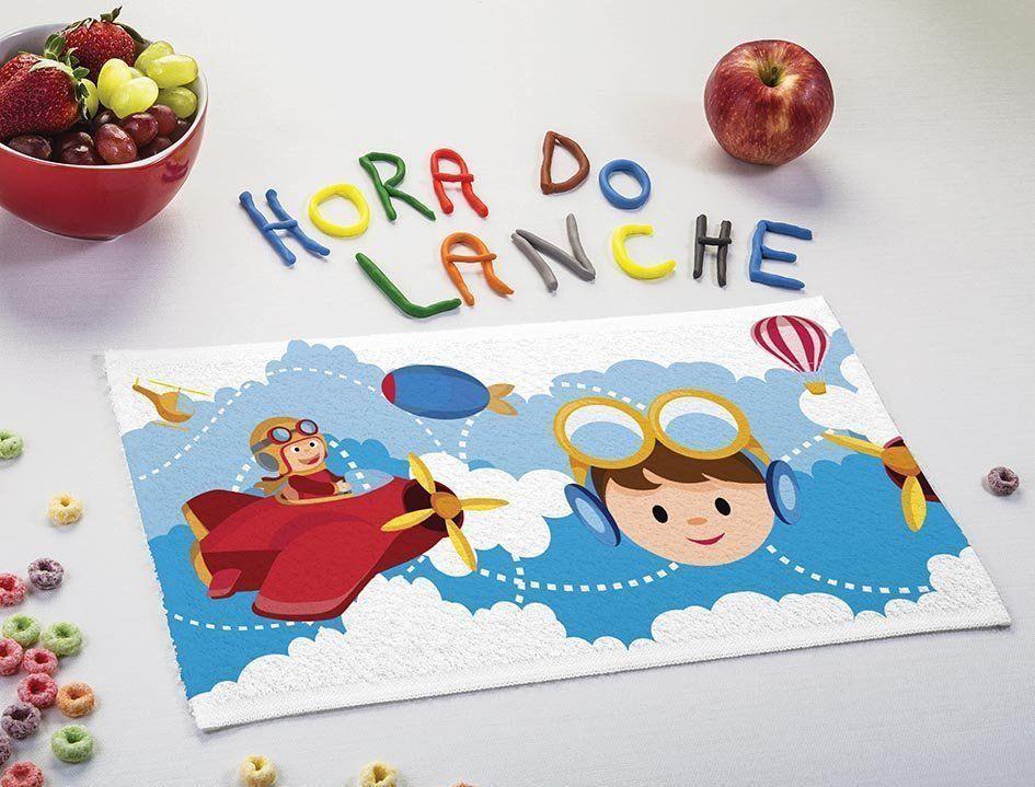 Toalha de Lancheira Piloto   Lepper