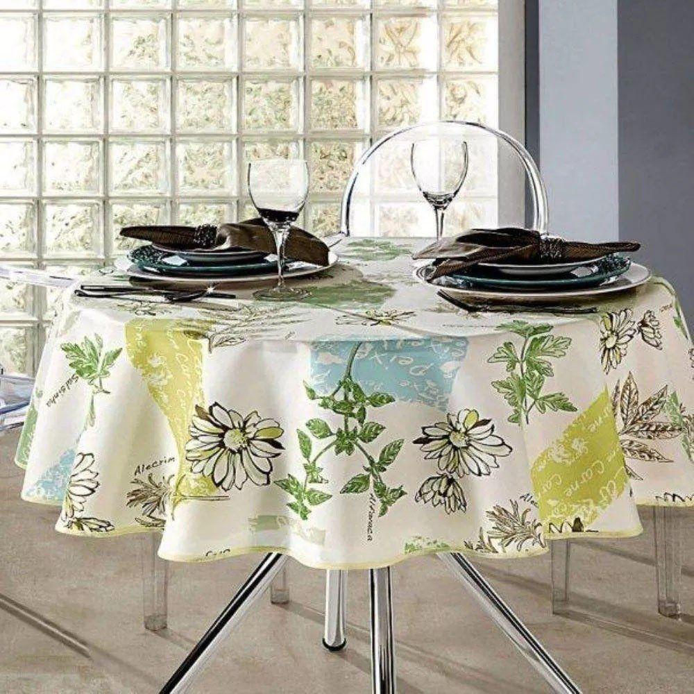 Toalha de Mesa Clean Athenas Redonda 160cm | Dohler
