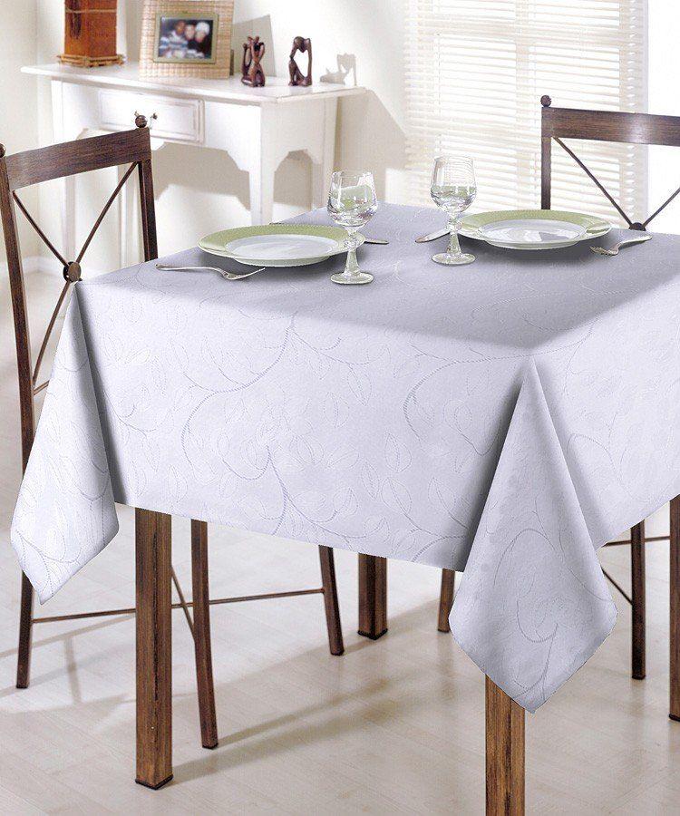 Toalha de mesa Requinte em Jacquard 8 Lugares   Dohler