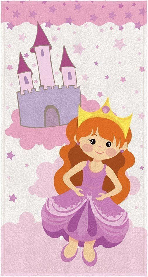 Toalha Felpuda Princesa 06126501 | Lepper