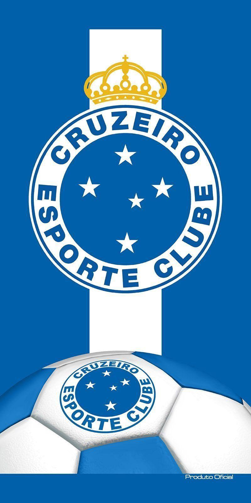 Toalha Aveludada Time de Futebol - Cruzeiro | Buettner