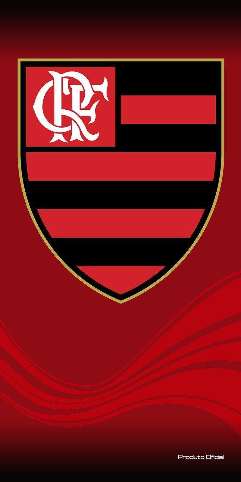 Toalha Aveludada Time de Futebol - Flamengo   Buettner